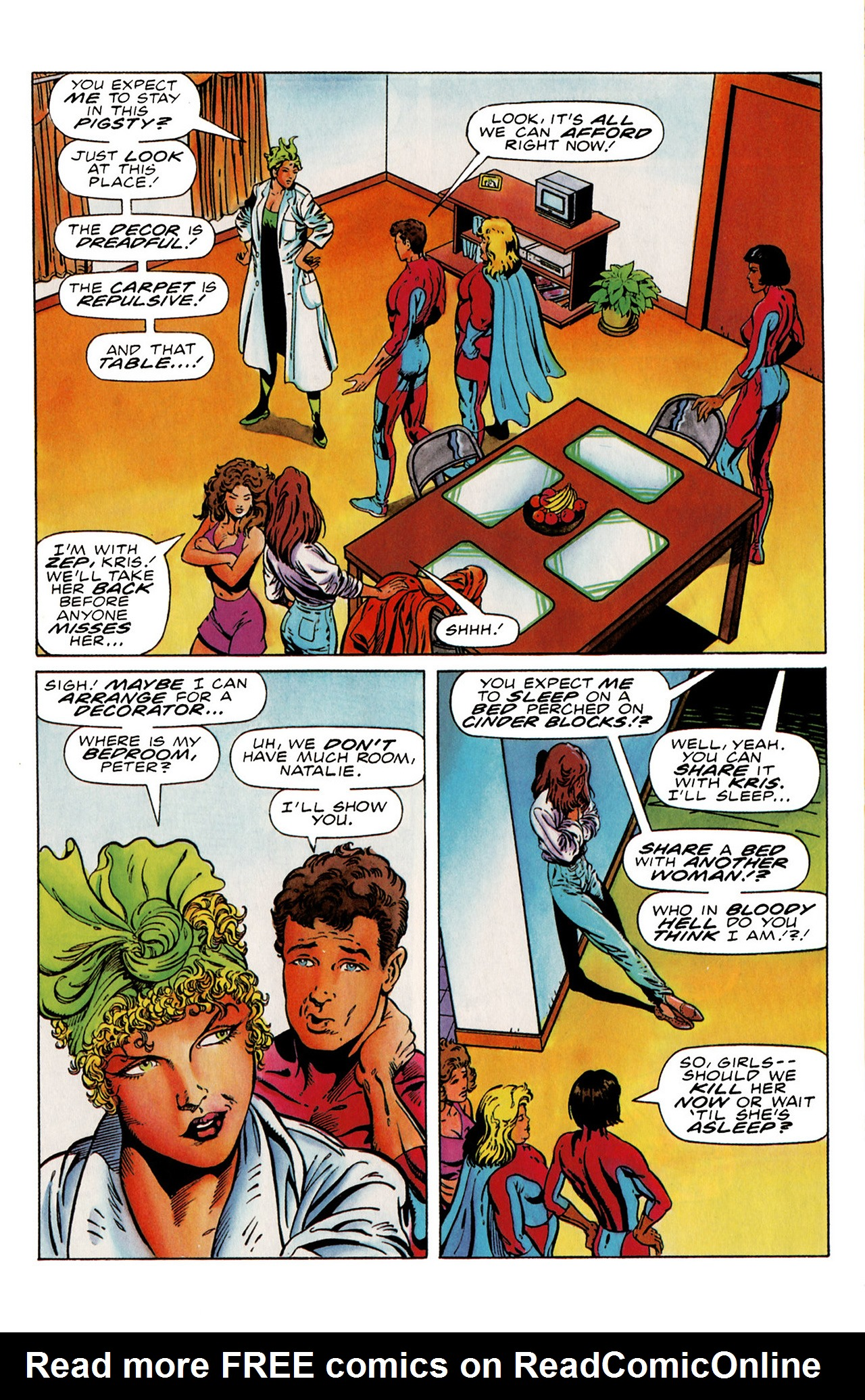 Read online Harbinger (1992) comic -  Issue #19 - 12