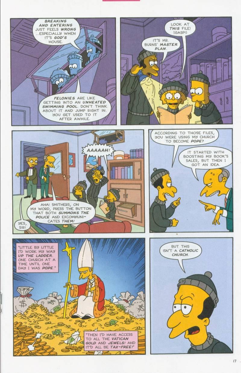 Read online Simpsons Comics comic -  Issue #69 - 16