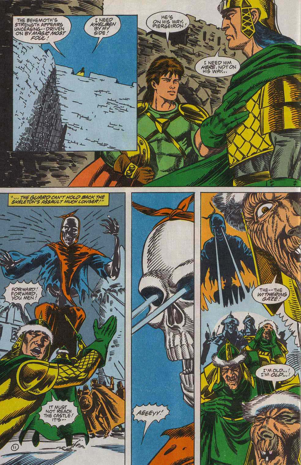 Read online Advanced Dungeons & Dragons comic -  Issue #7 - 12