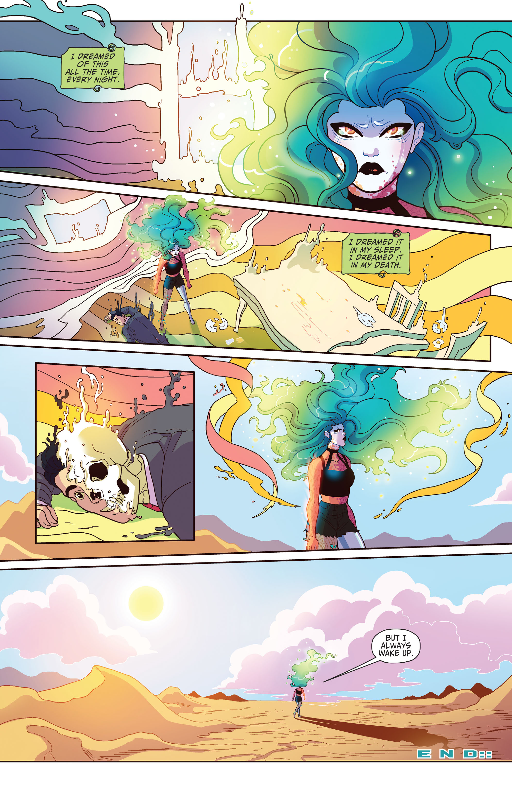 Read online Shade, the Changing Girl comic -  Issue #4 - 27
