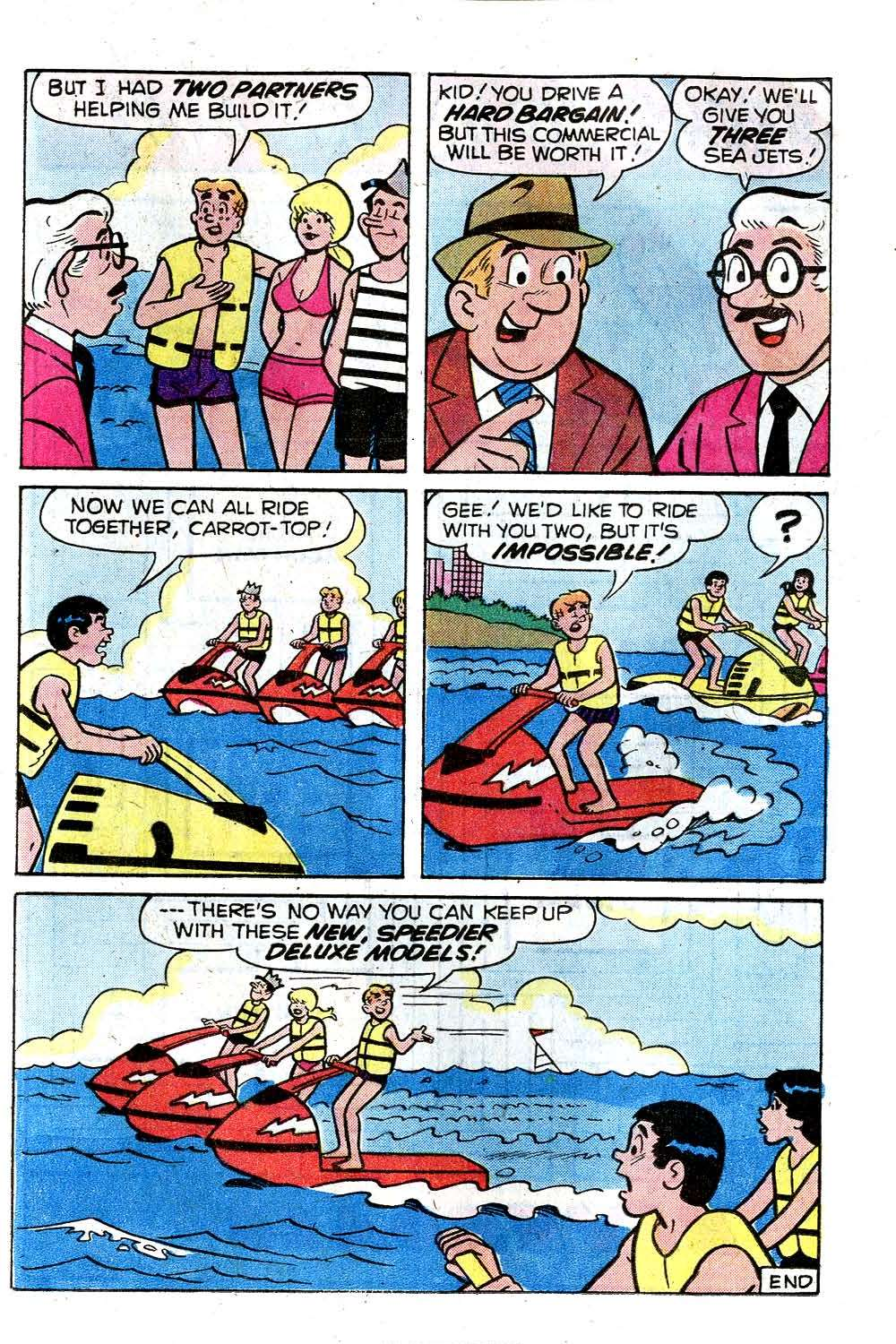 Read online Archie (1960) comic -  Issue #285 - 17