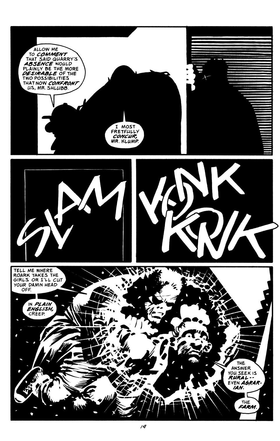 Read online Sin City: That Yellow Bastard comic -  Issue #6 - 19