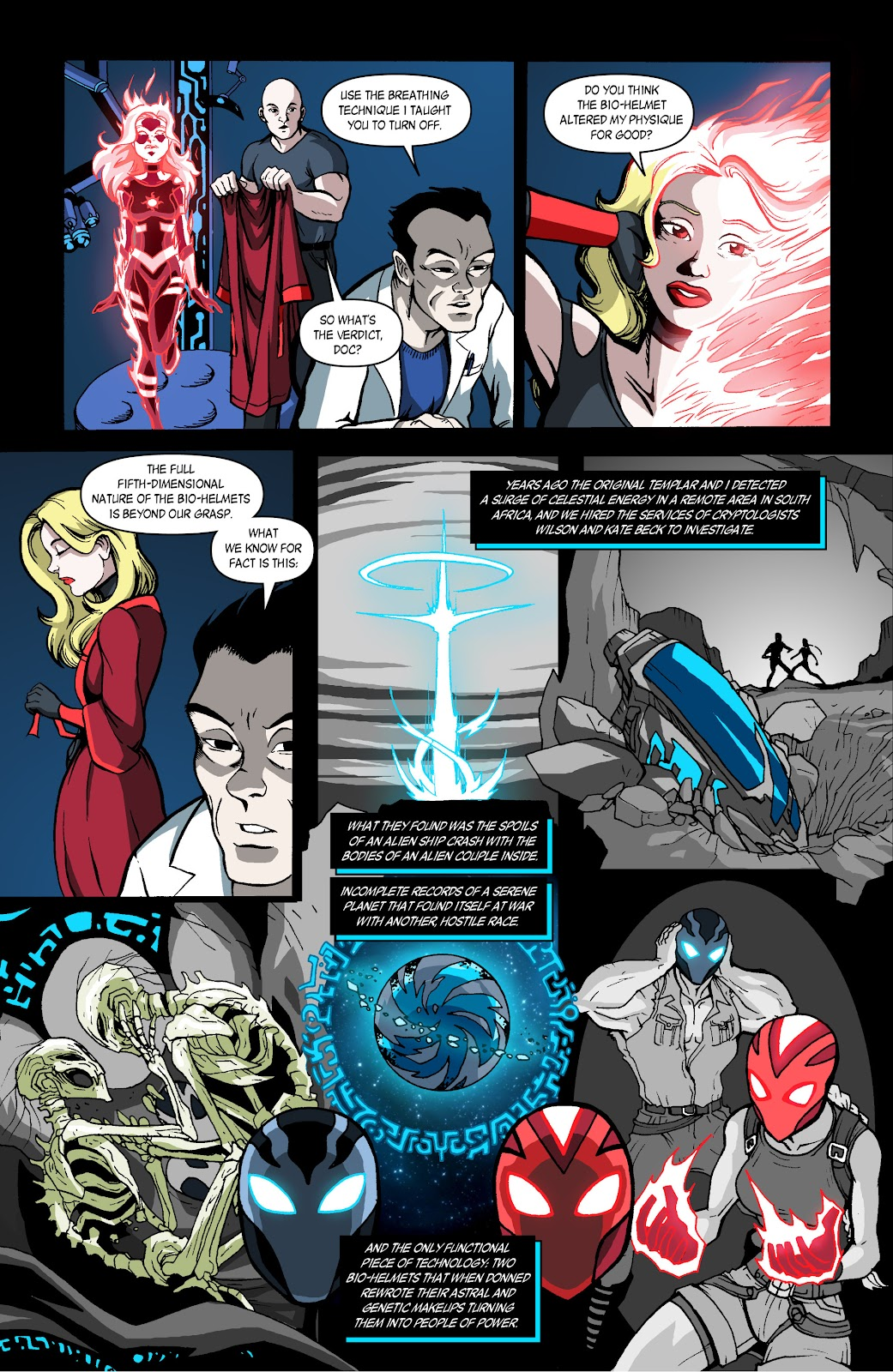 Sentinels issue 4 - Page 3