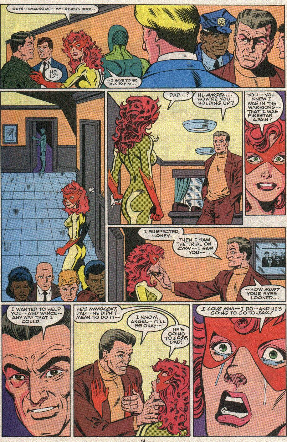 The New Warriors Issue #25 #29 - English 11