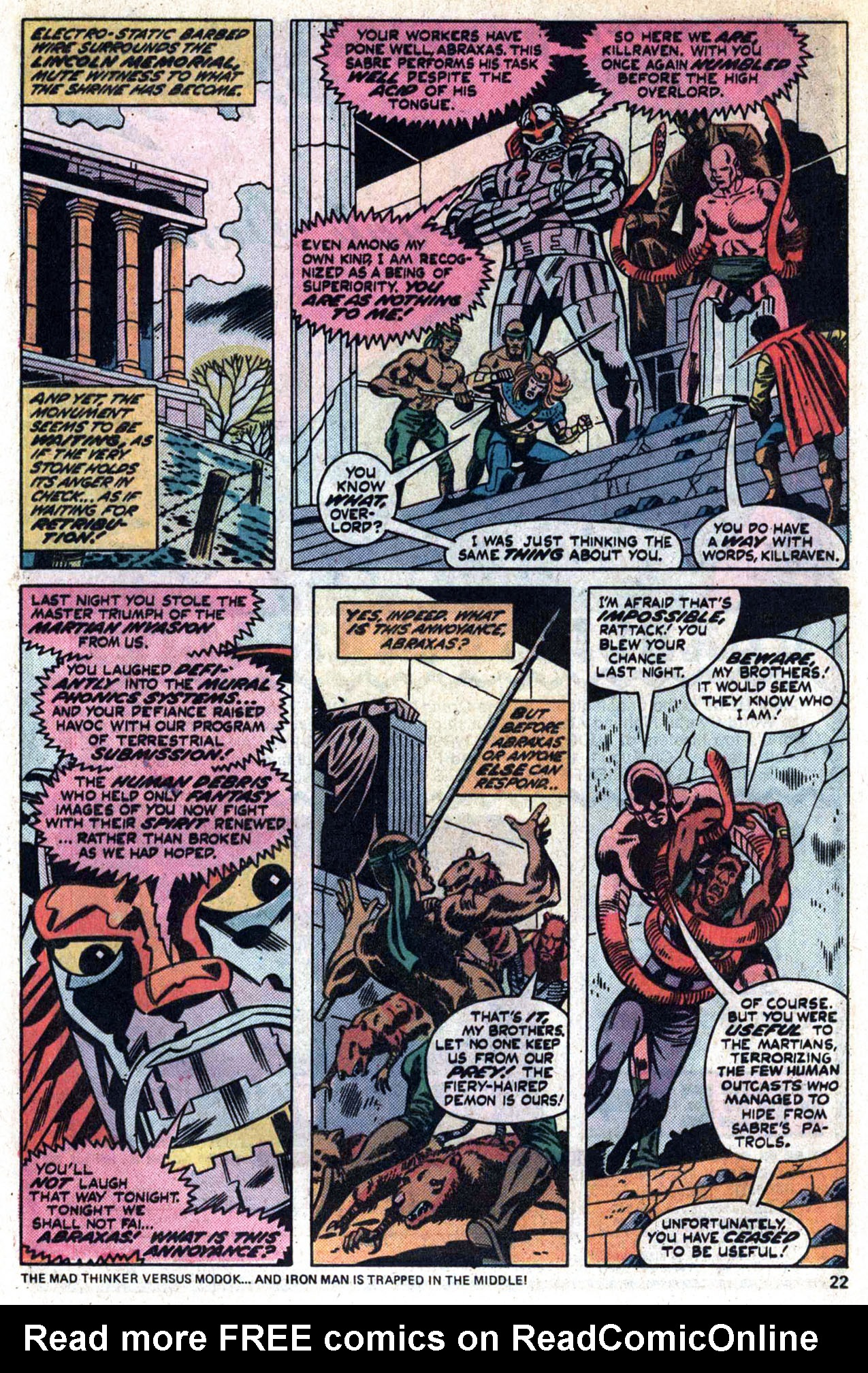 Read online Amazing Adventures (1970) comic -  Issue #30 - 24