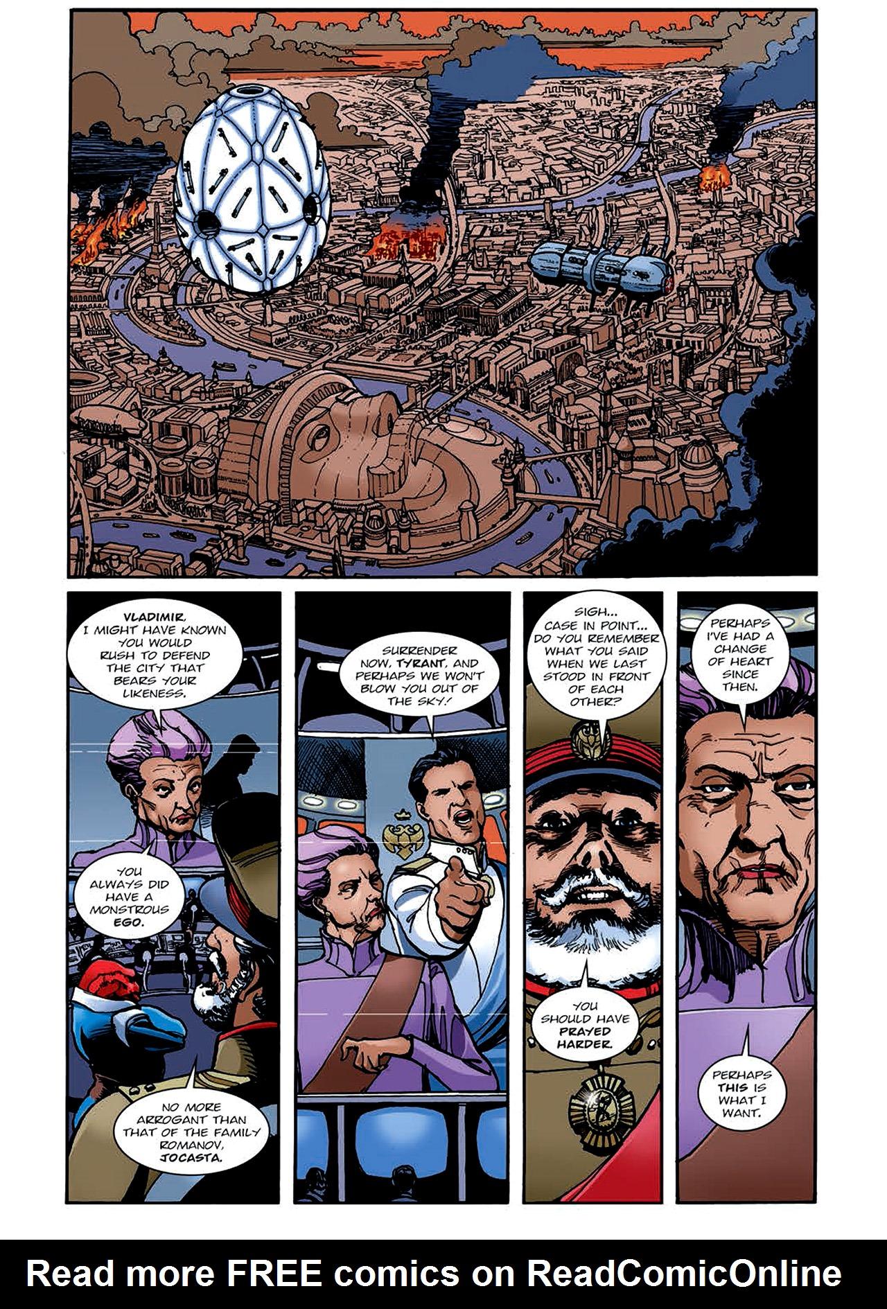 Read online Nikolai Dante comic -  Issue # TPB 4 - 134