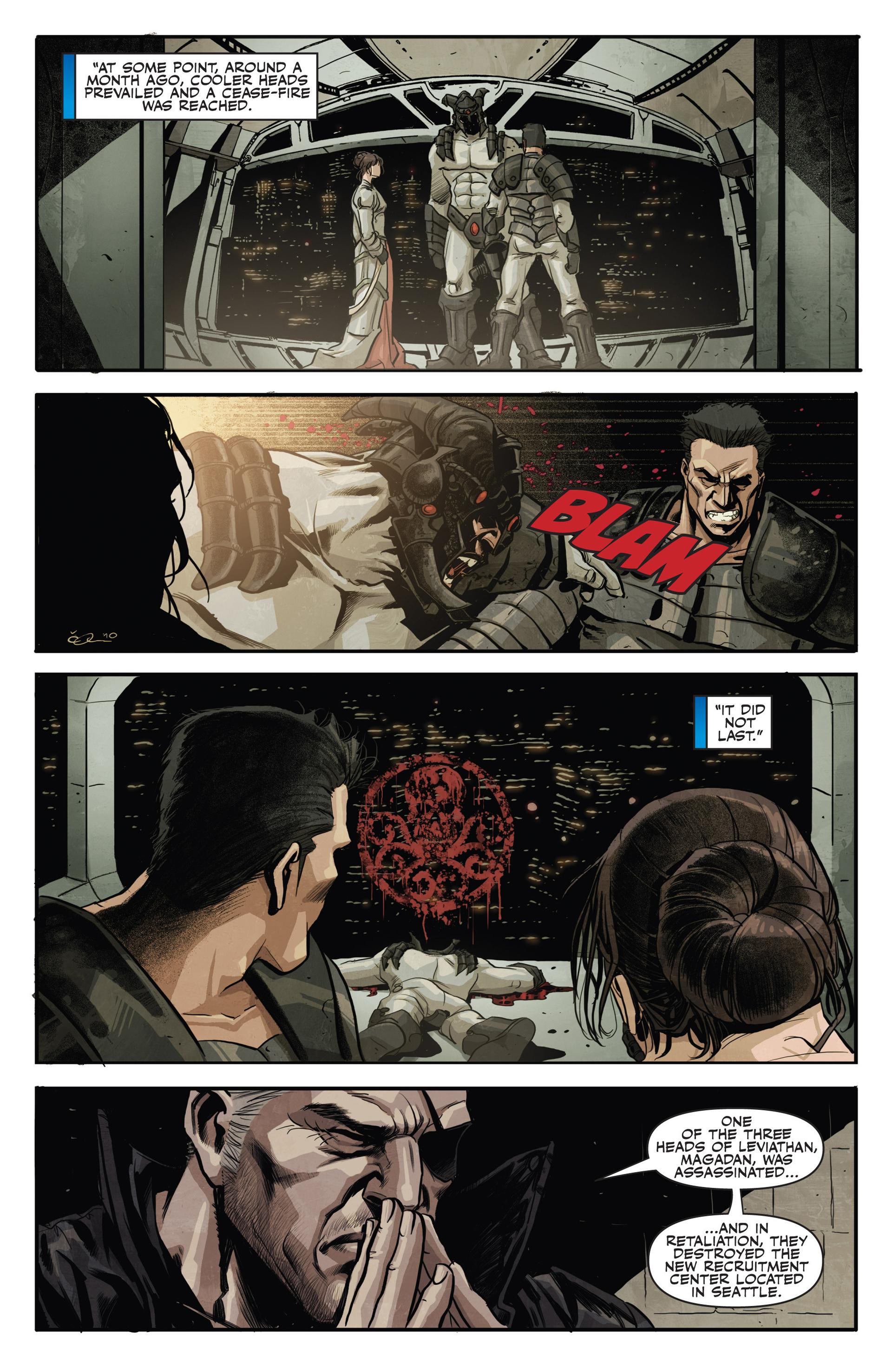 Read online Secret Warriors comic -  Issue #20 - 10