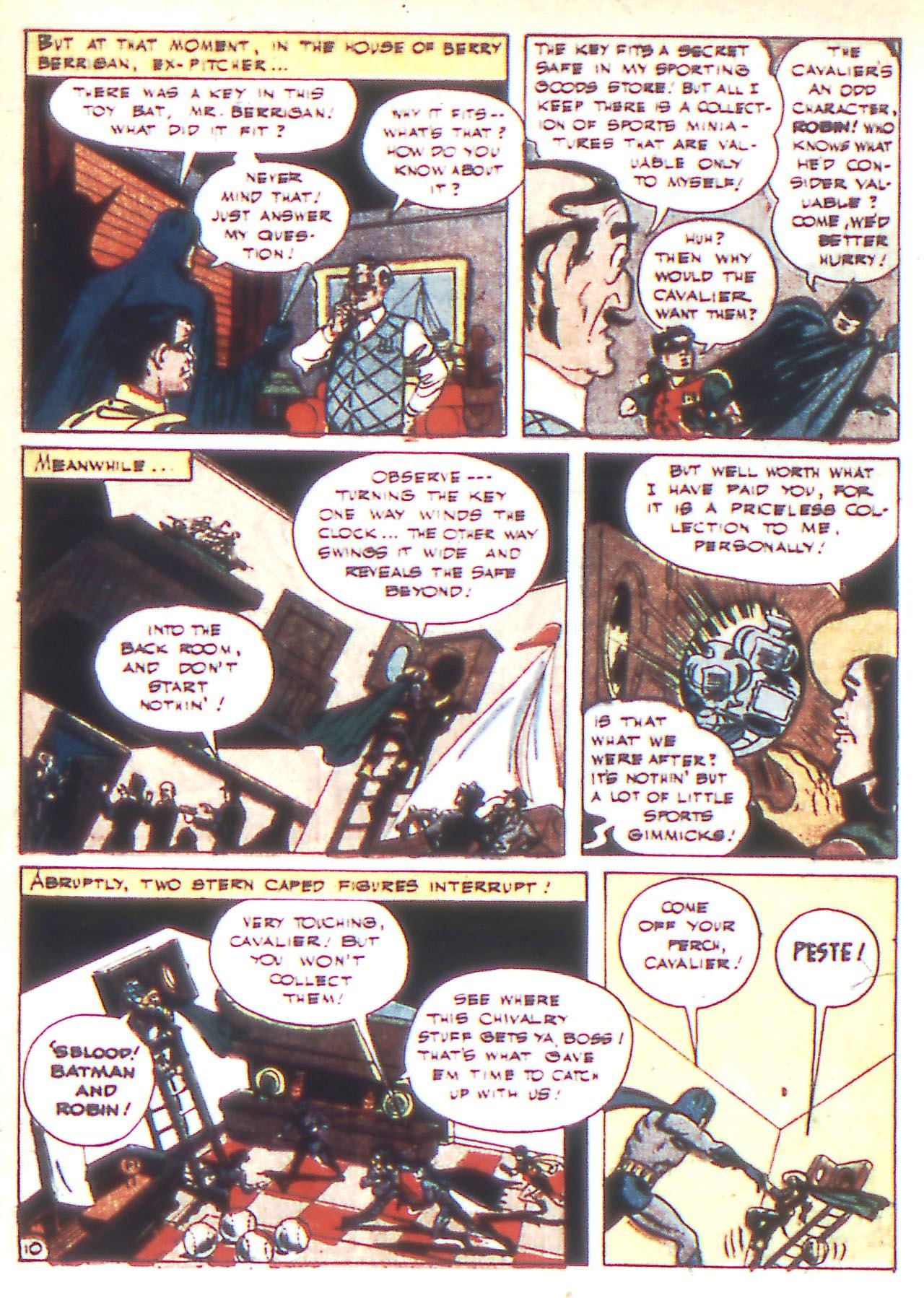 Read online Detective Comics (1937) comic -  Issue #81 - 12