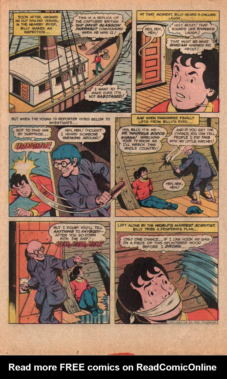 Read online Shazam! (1973) comic -  Issue #25 - 28