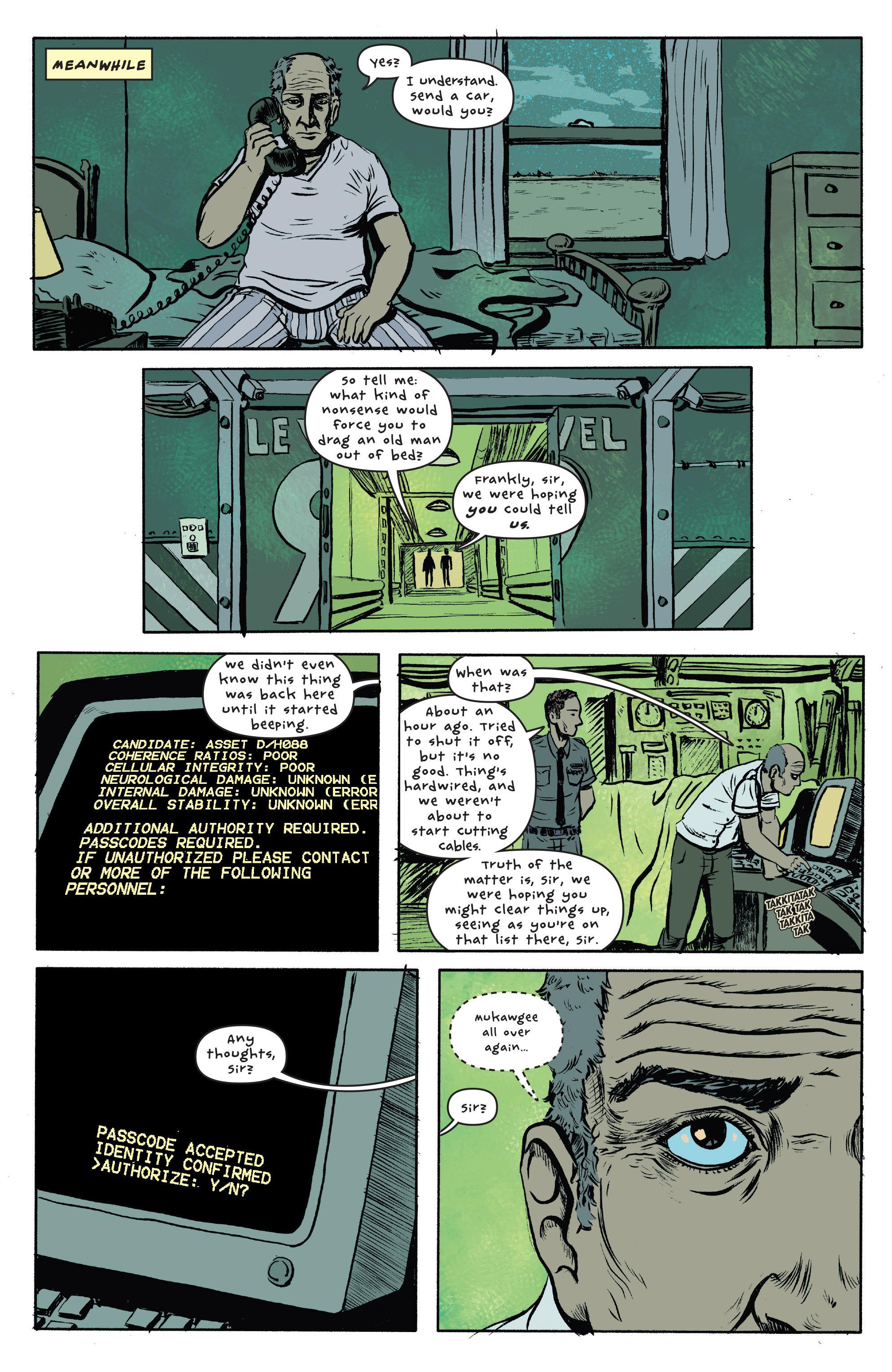 Read online UFOlogy comic -  Issue #1 - 21