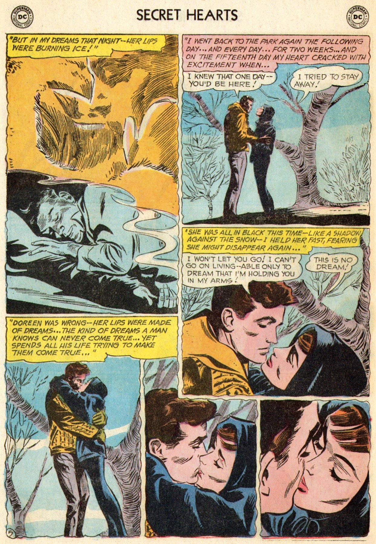 Read online Secret Hearts comic -  Issue #103 - 23