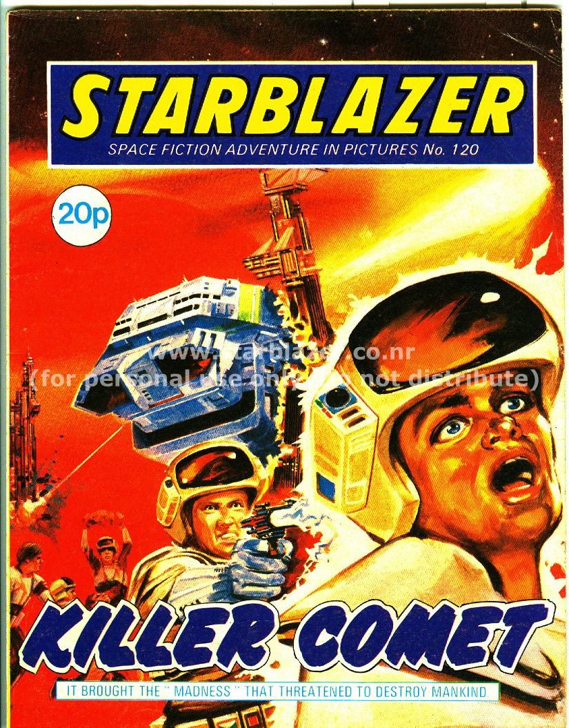 Starblazer issue 120 - Page 1