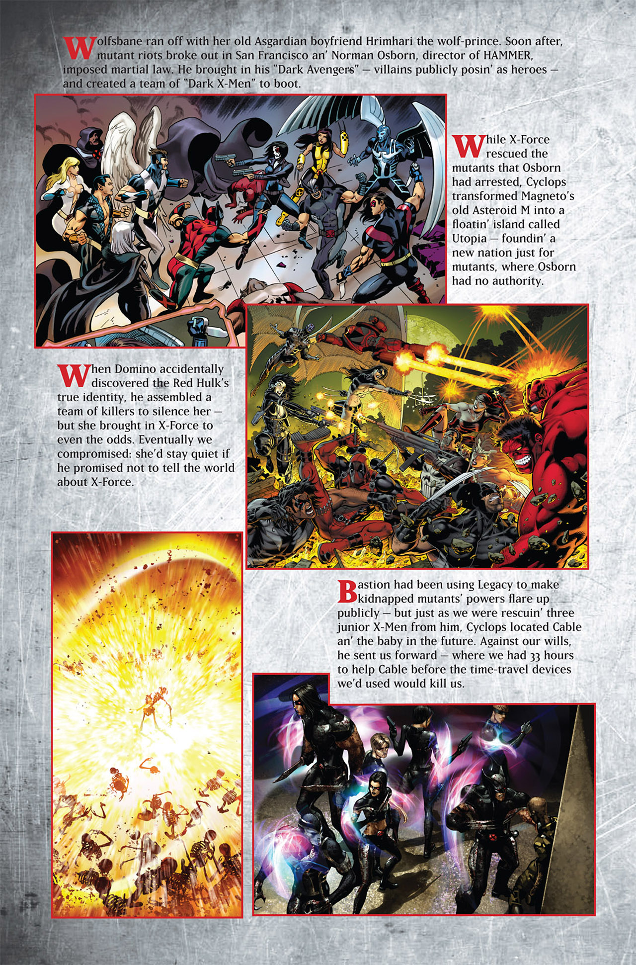 Read online Uncanny X-Force (2010) comic -  Issue #1 - 29