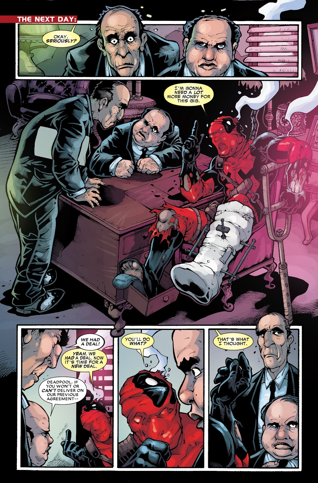 Read online Deadpool (2008) comic -  Issue #33.1 - 5
