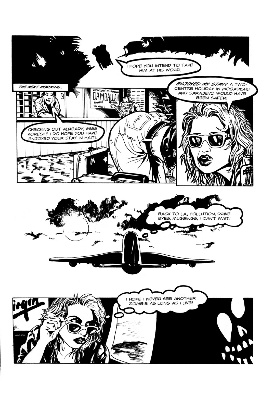 Read online Night of the Living Dead (1994) comic -  Issue #0 - 16