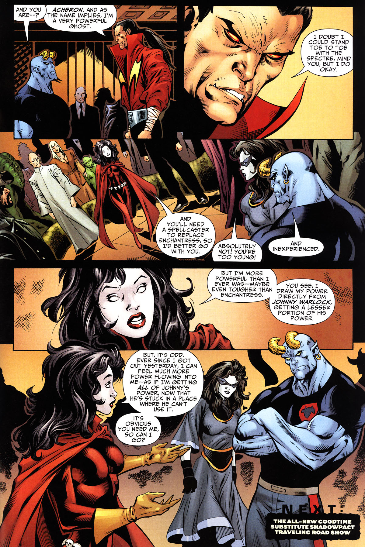 Read online Shadowpact comic -  Issue #10 - 23