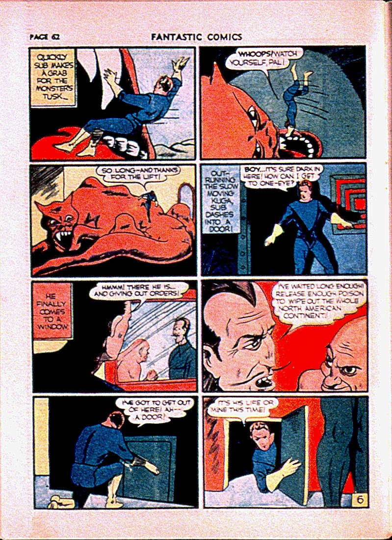 Fantastic Comics issue 13 - Page 65