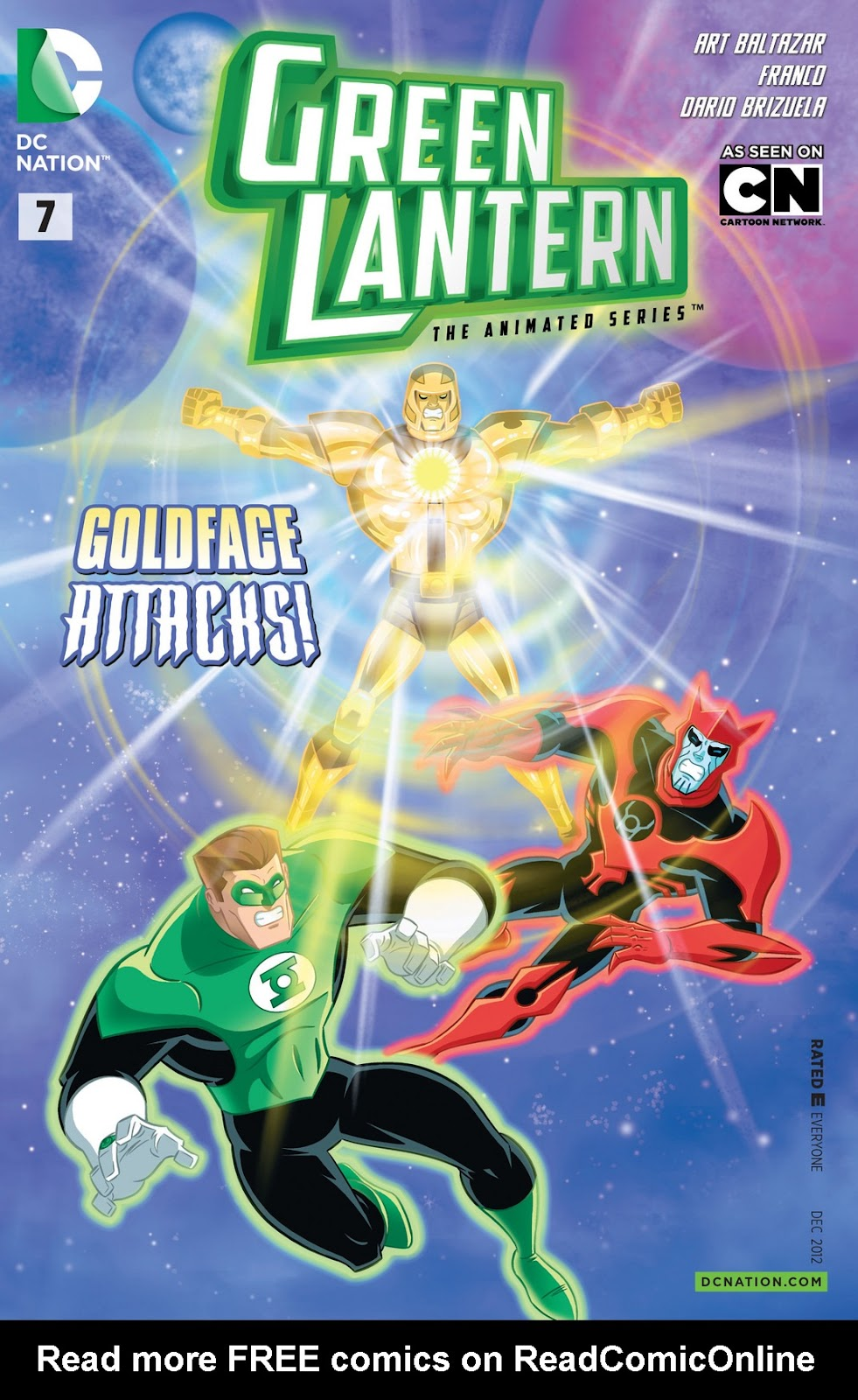 Green Lantern: The Animated Series 7 Page 1