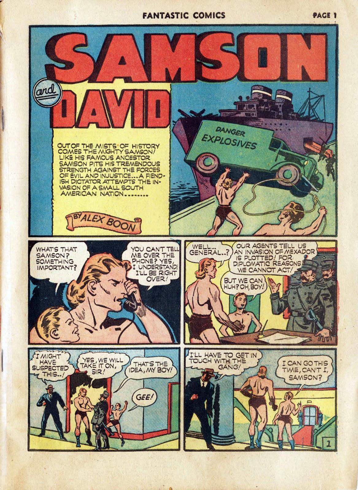 Read online Fantastic Comics comic -  Issue #17 - 3