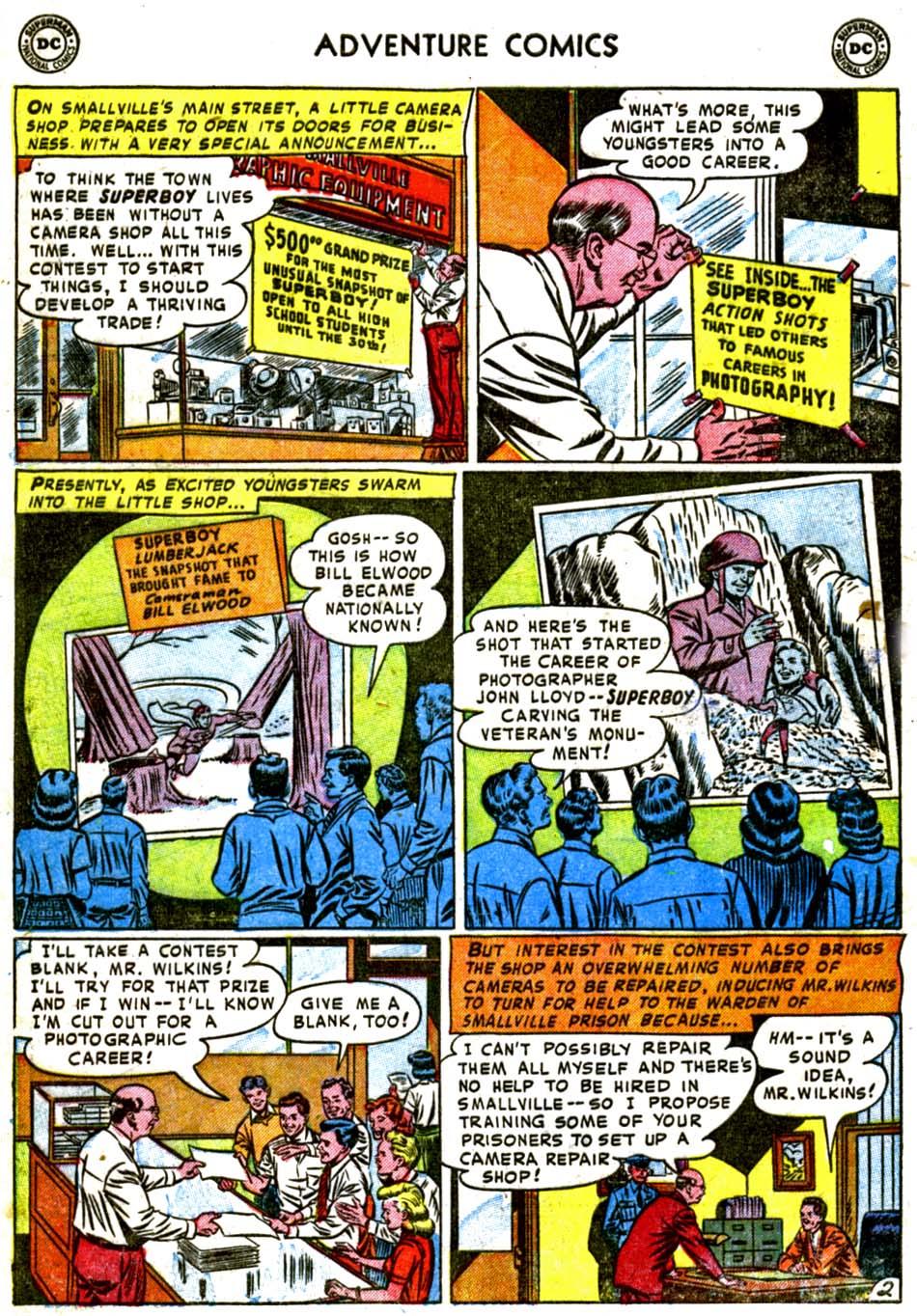 Read online Adventure Comics (1938) comic -  Issue #184 - 4