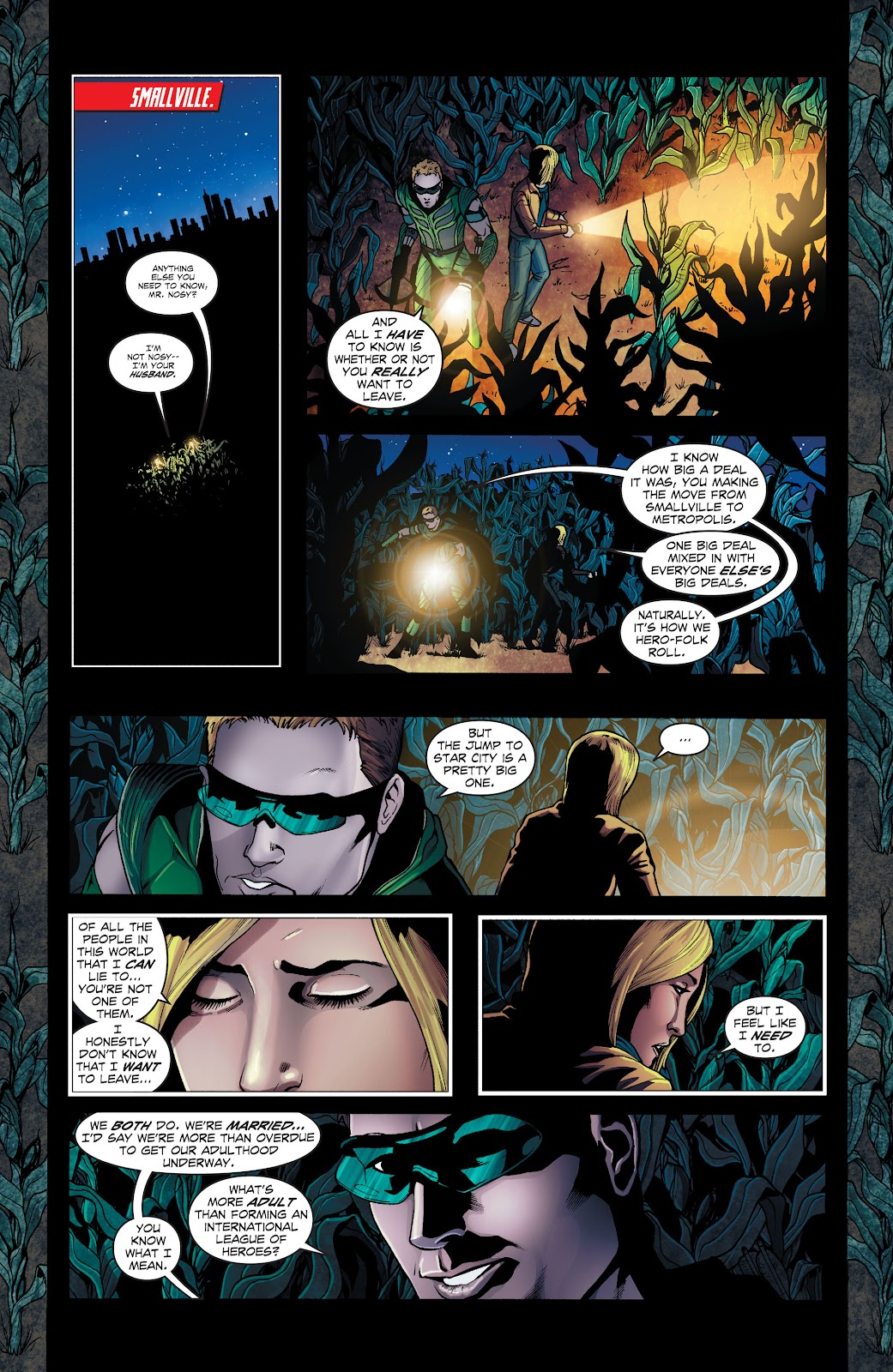 Read online Smallville Season 11 [II] comic -  Issue # TPB 1 - 92