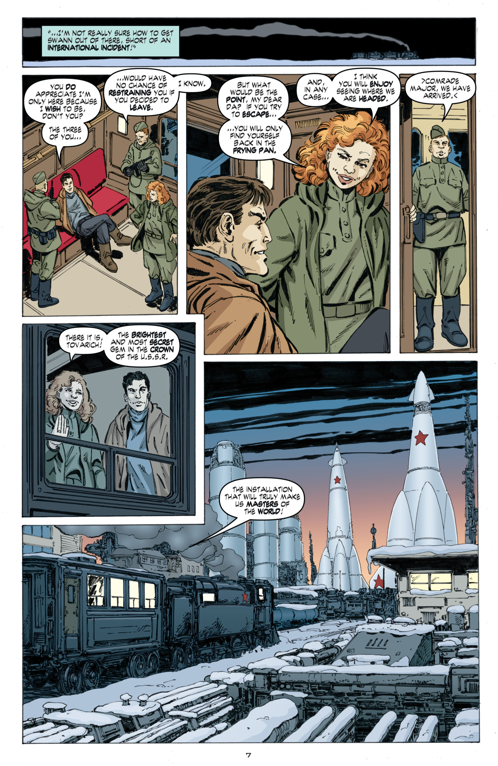 Read online Cold War comic -  Issue # TPB - 91