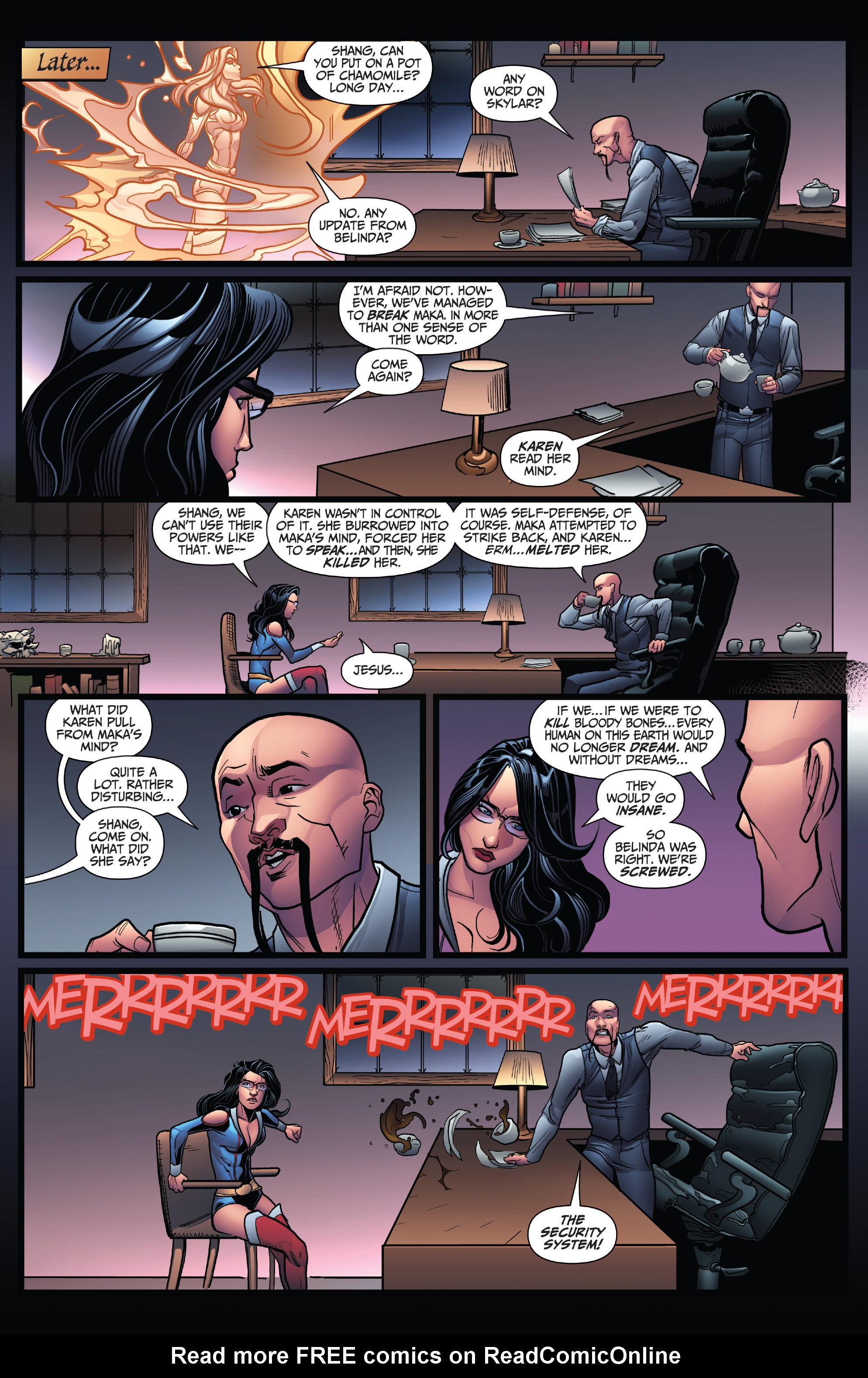 Read online Grimm Fairy Tales: Arcane Acre comic -  Issue # TPB 4 - 25