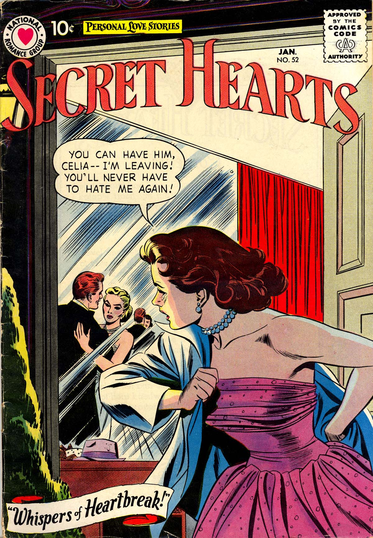 Read online Secret Hearts comic -  Issue #52 - 1