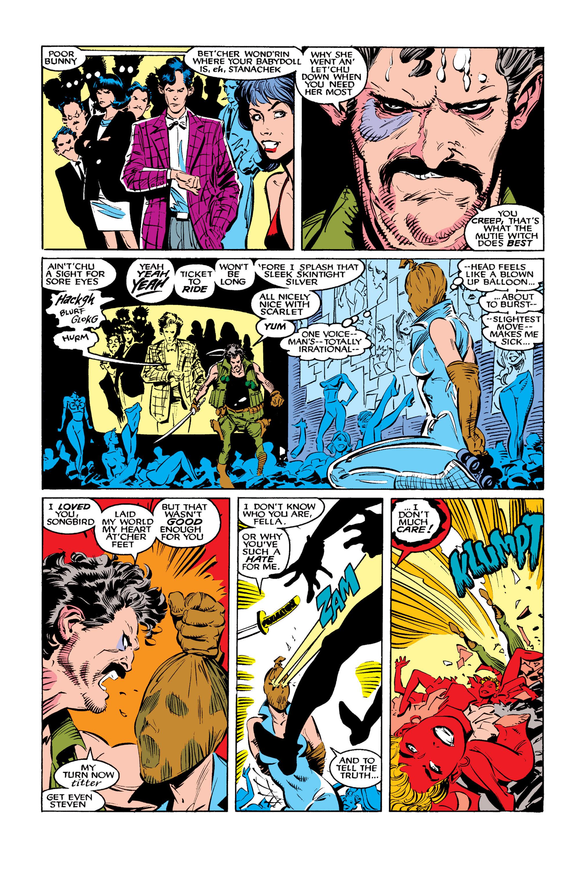 Read online Uncanny X-Men (1963) comic -  Issue #260 - 20