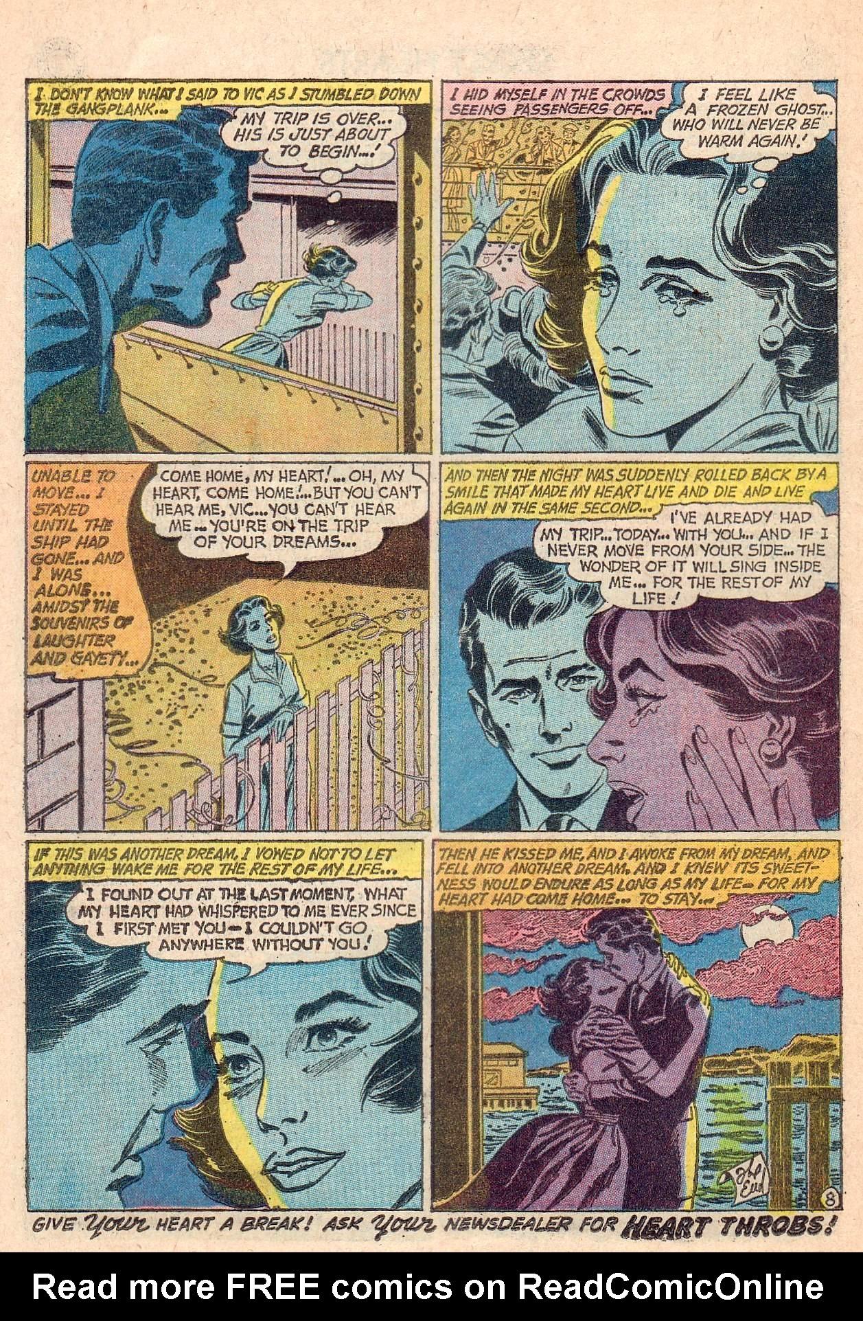 Read online Secret Hearts comic -  Issue #67 - 10