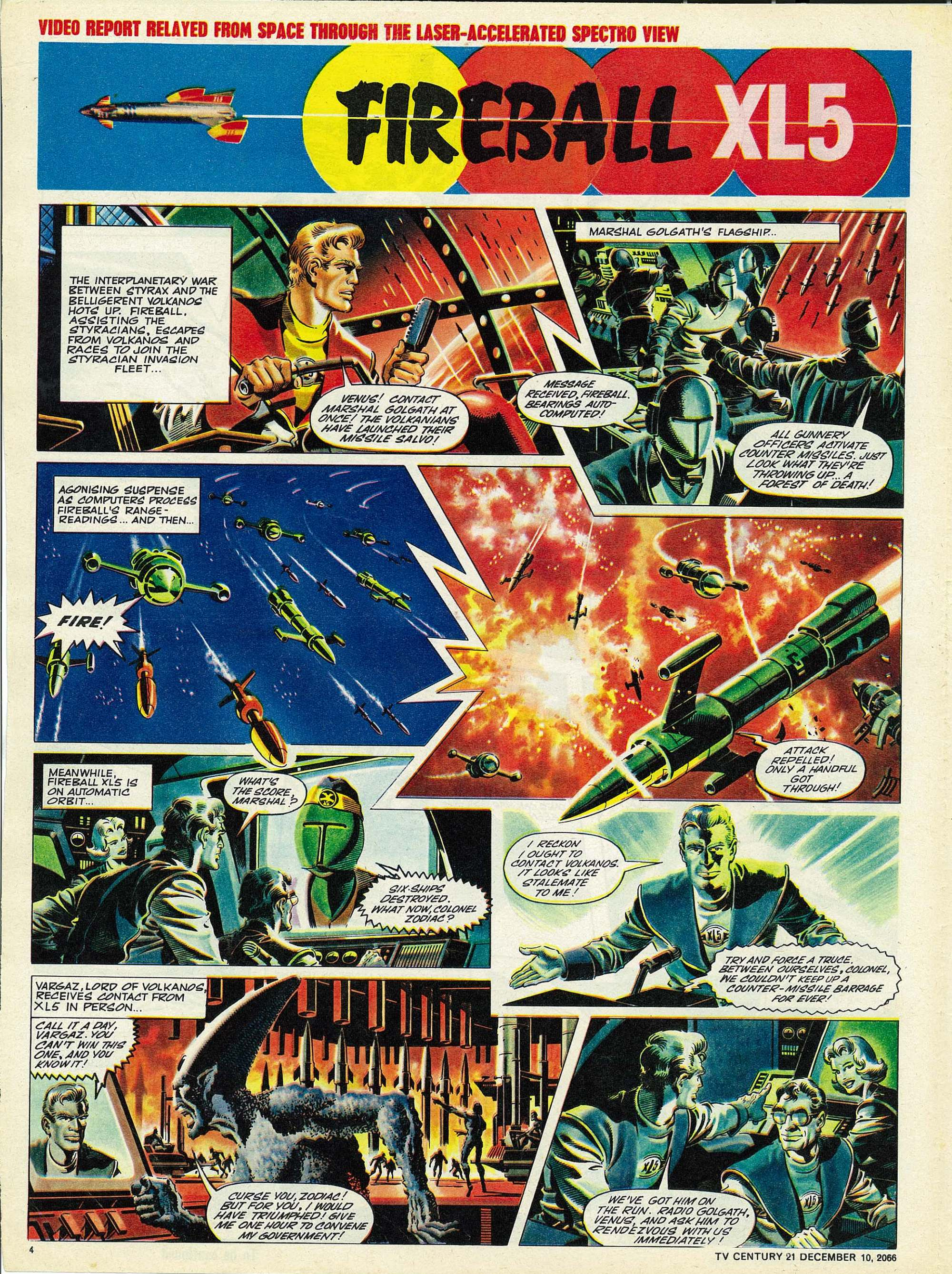 Read online TV Century 21 (TV 21) comic -  Issue #99 - 4