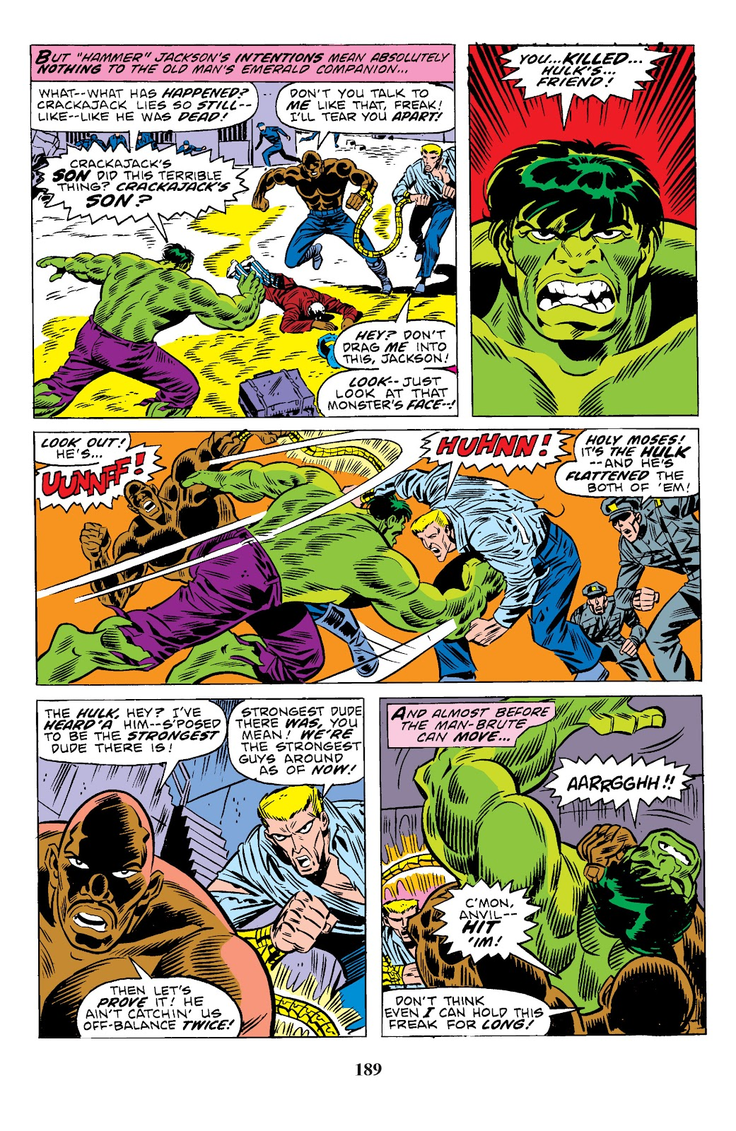 Read online Marvel Masterworks: The Incredible Hulk comic -  Issue # TPB 10 (Part 3) - 36