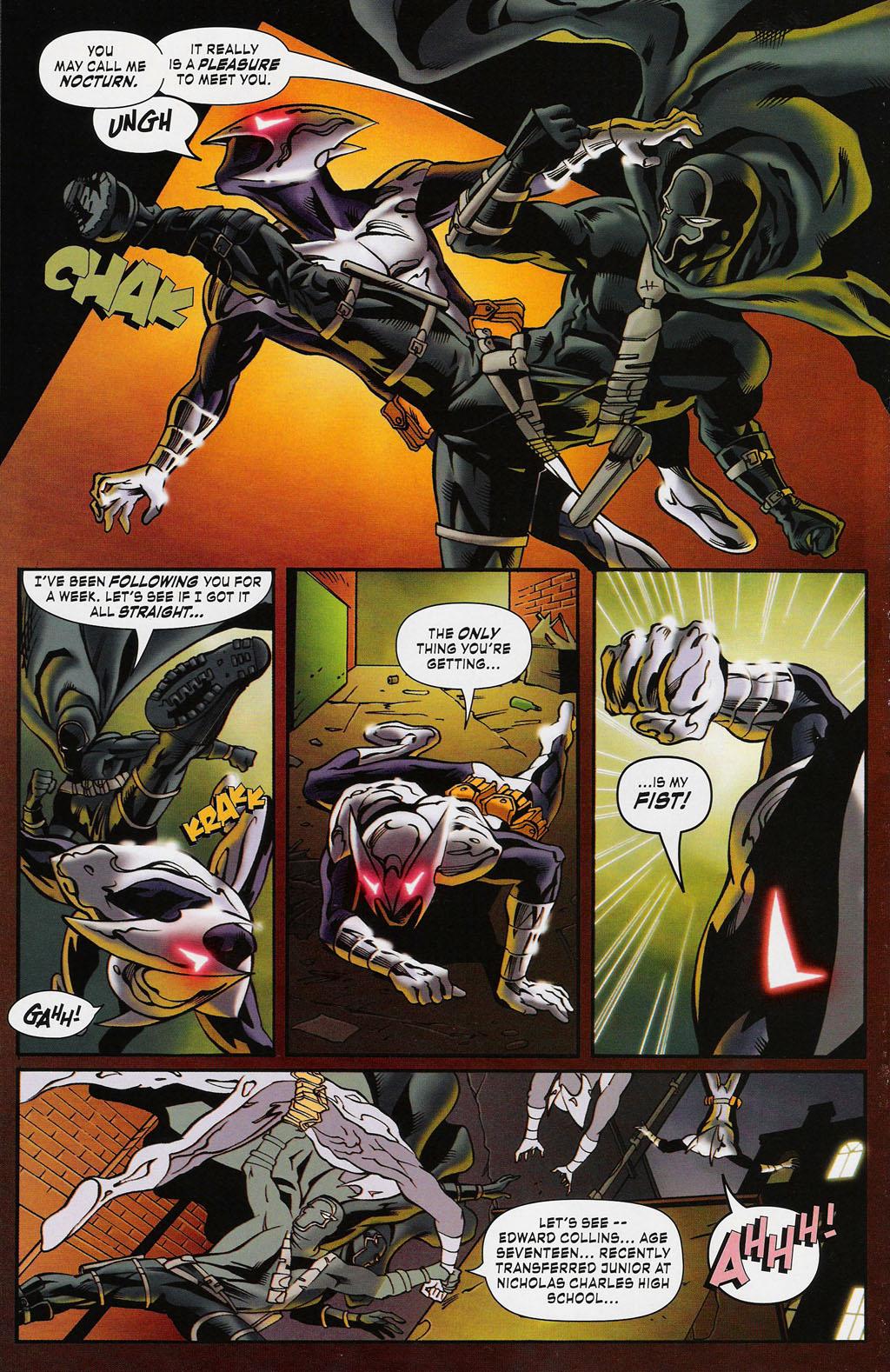 Read online ShadowHawk (2005) comic -  Issue #3 - 20