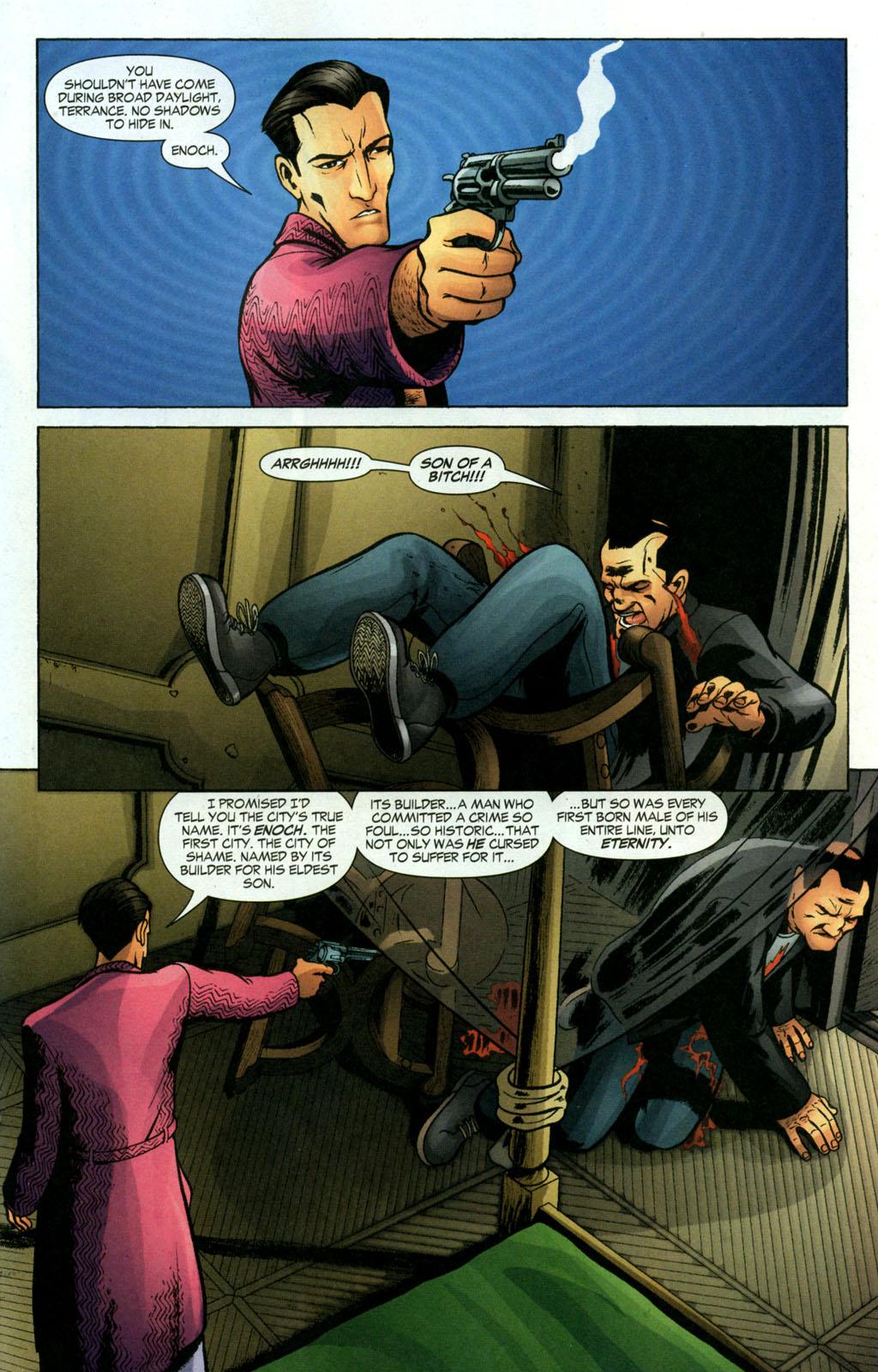 Read online Fallen Angel (2003) comic -  Issue #18 - 16