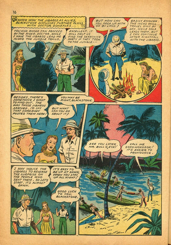 Read online Super-Magician Comics comic -  Issue #9 - 16