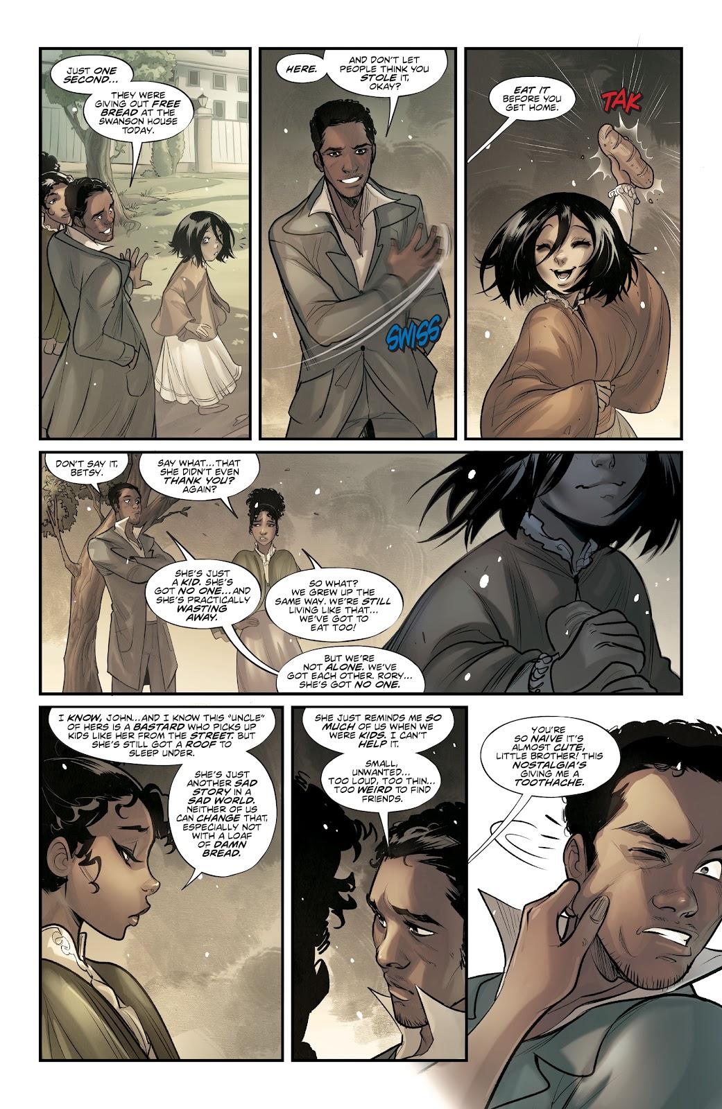 Read online Mirka Andolfo's Mercy comic -  Issue #1 - 10