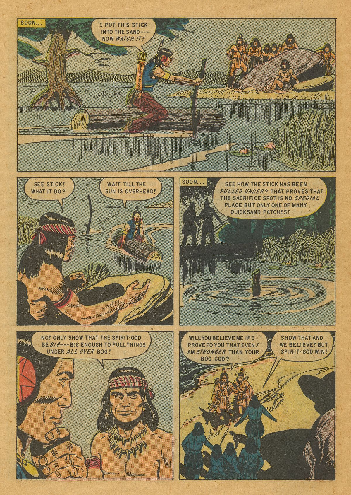 Read online Turok, Son of Stone comic -  Issue #10 - 26