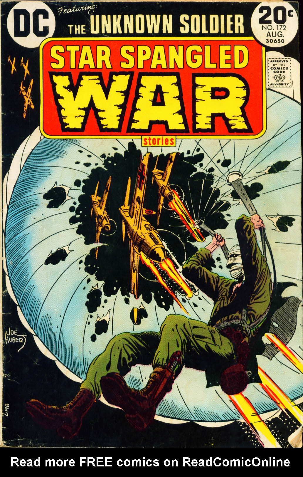 Read online Star Spangled War Stories (1952) comic -  Issue #172 - 1