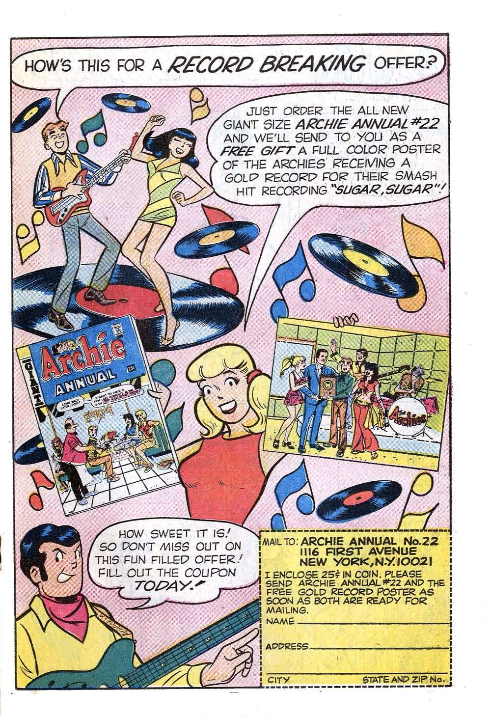 Read online Archie (1960) comic -  Issue #201 - 19
