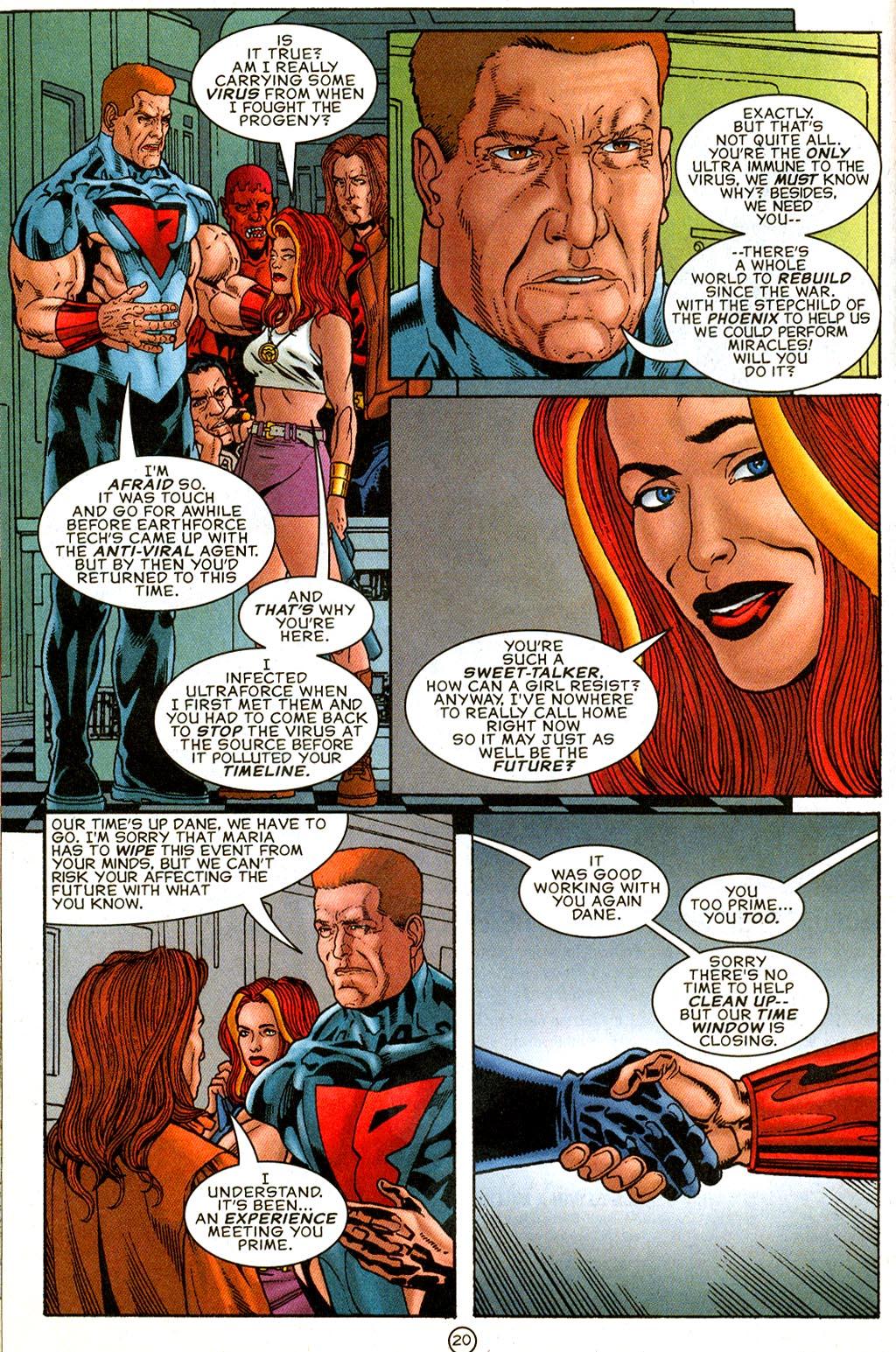 Read online UltraForce (1995) comic -  Issue #9 - 20