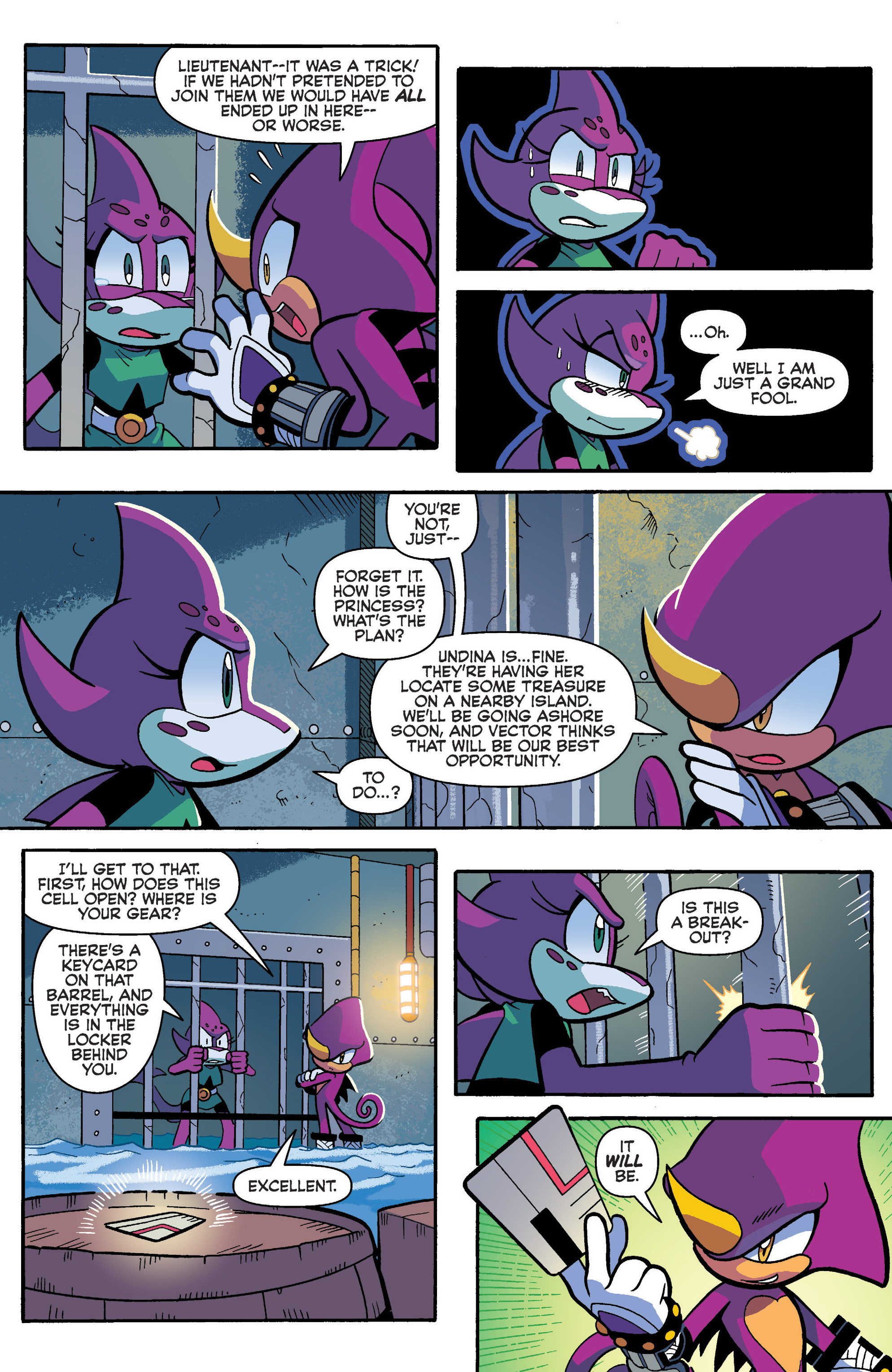 Read online Sonic Universe comic -  Issue #93 - 13