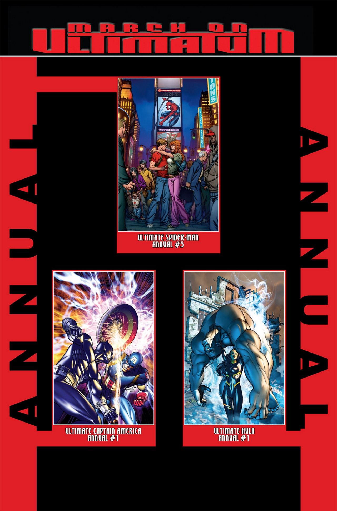 Read online Ultimate X-Men/Ultimate Fantastic Four Annual comic -  Issue # Full - 36