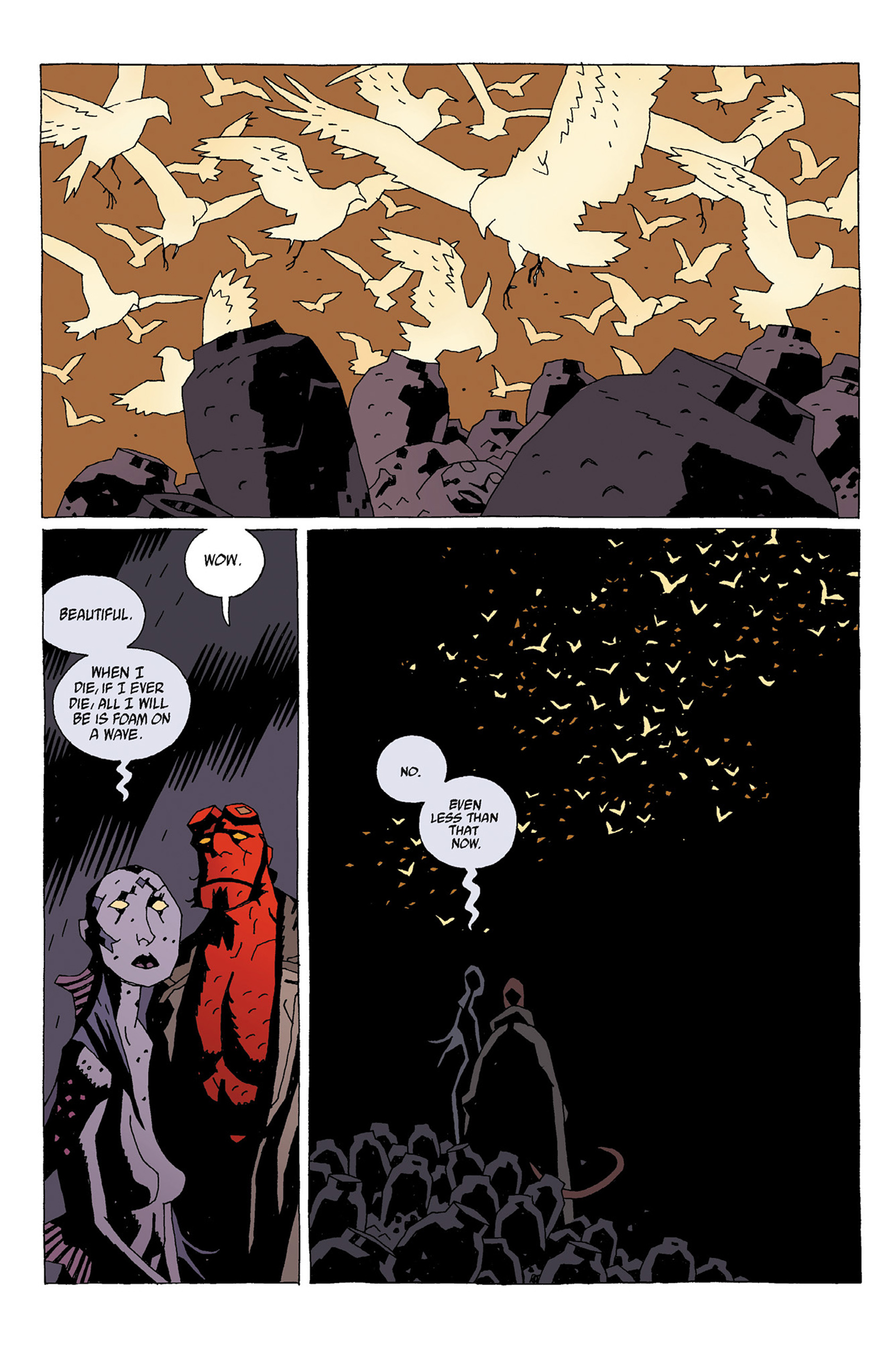 Read online Hellboy: Strange Places comic -  Issue # TPB - 62