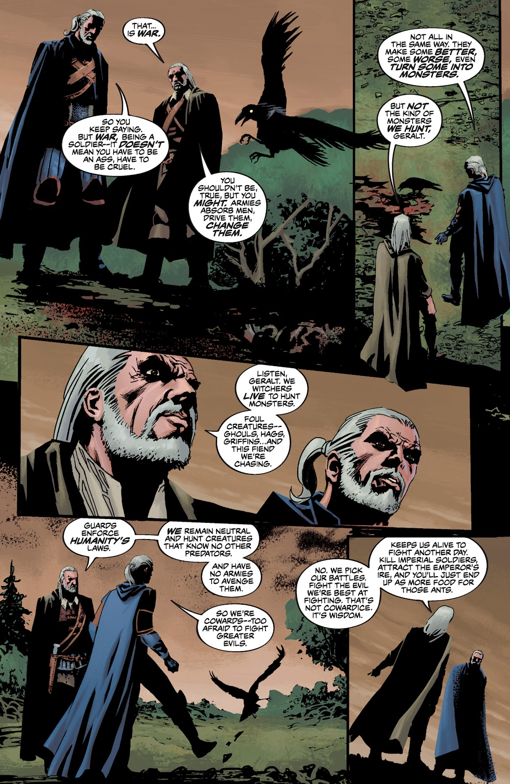 Read online The Witcher Omnibus comic -  Issue # TPB (Part 3) - 65