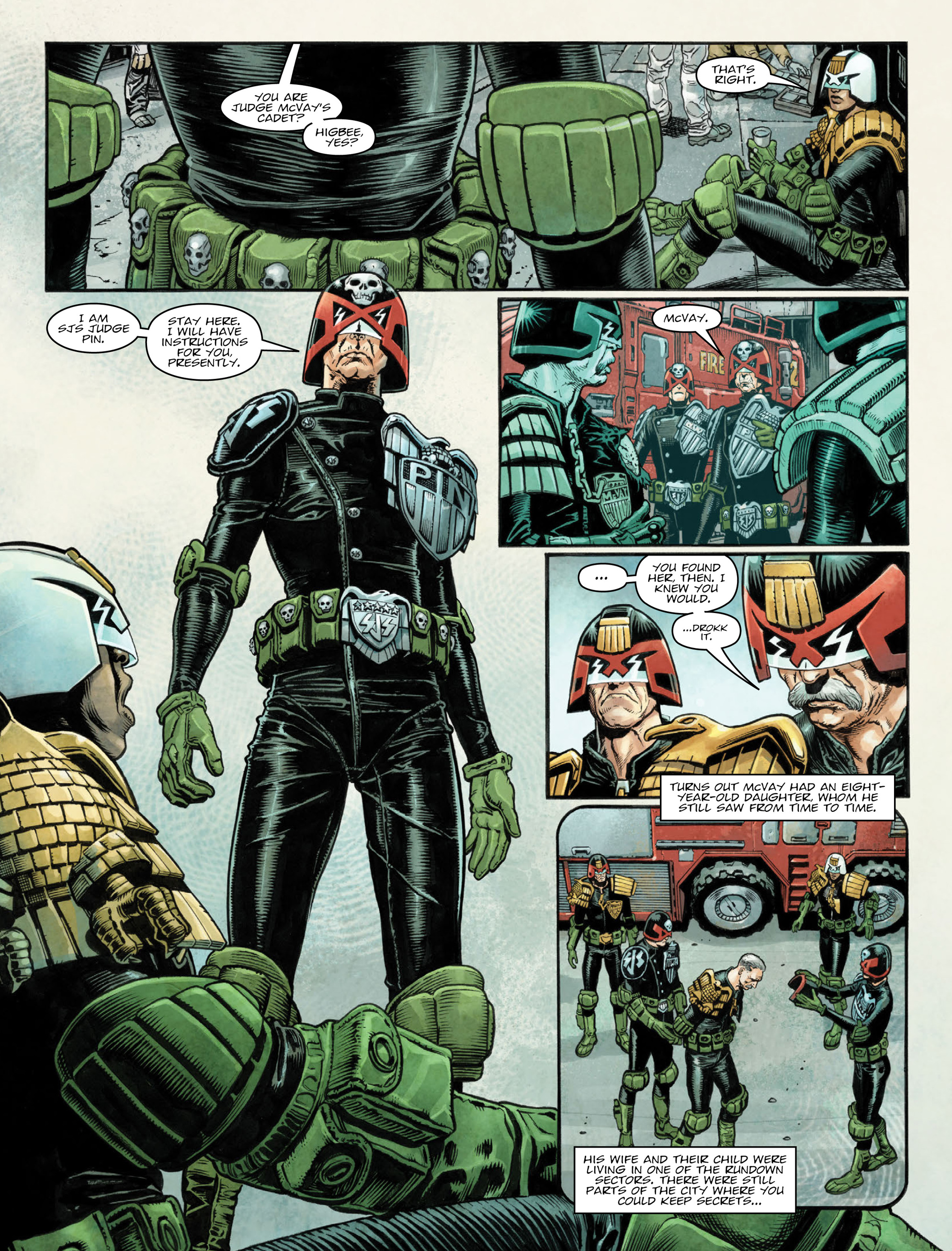 Read online 2000 AD comic -  Issue #2035 - 6