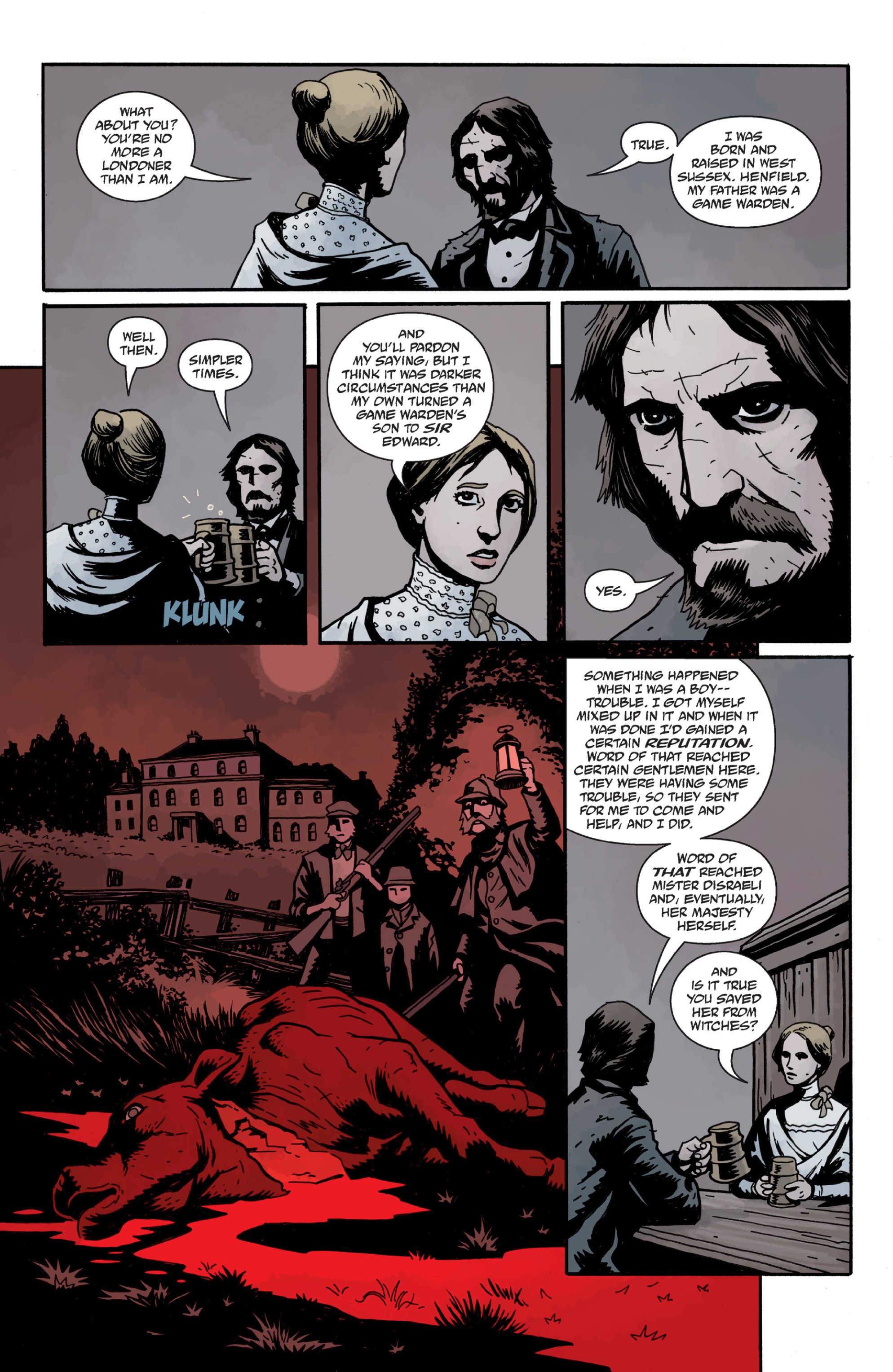 Read online Sir Edward Grey, Witchfinder: In the Service of Angels comic -  Issue # TPB - 92