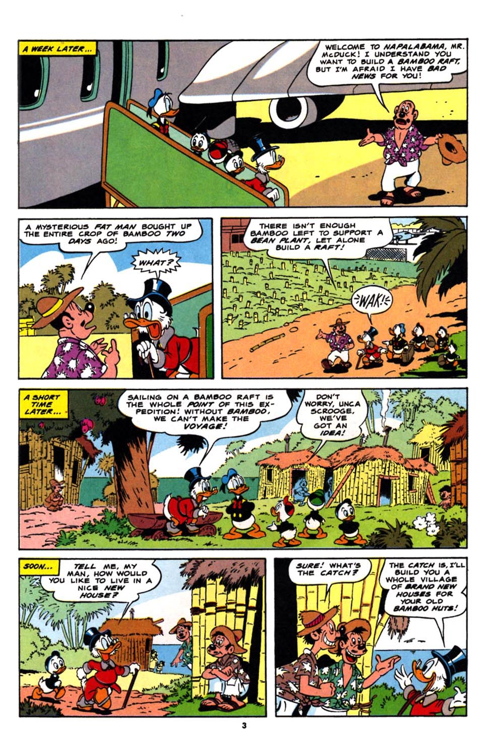 Read online Uncle Scrooge (1953) comic -  Issue #244 - 5