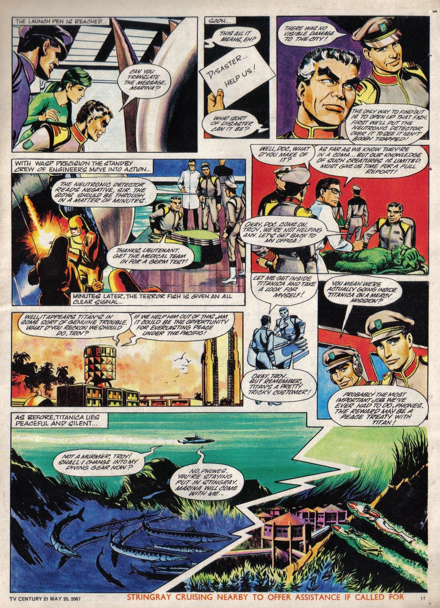 Read online TV Century 21 (TV 21) comic -  Issue #122 - 16
