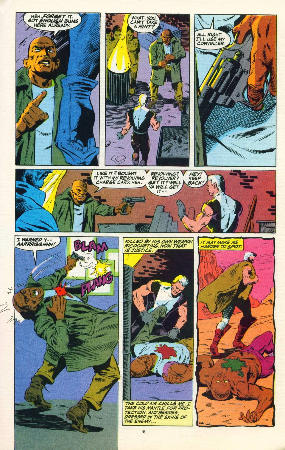Read online Justice (1986) comic -  Issue #22 - 10