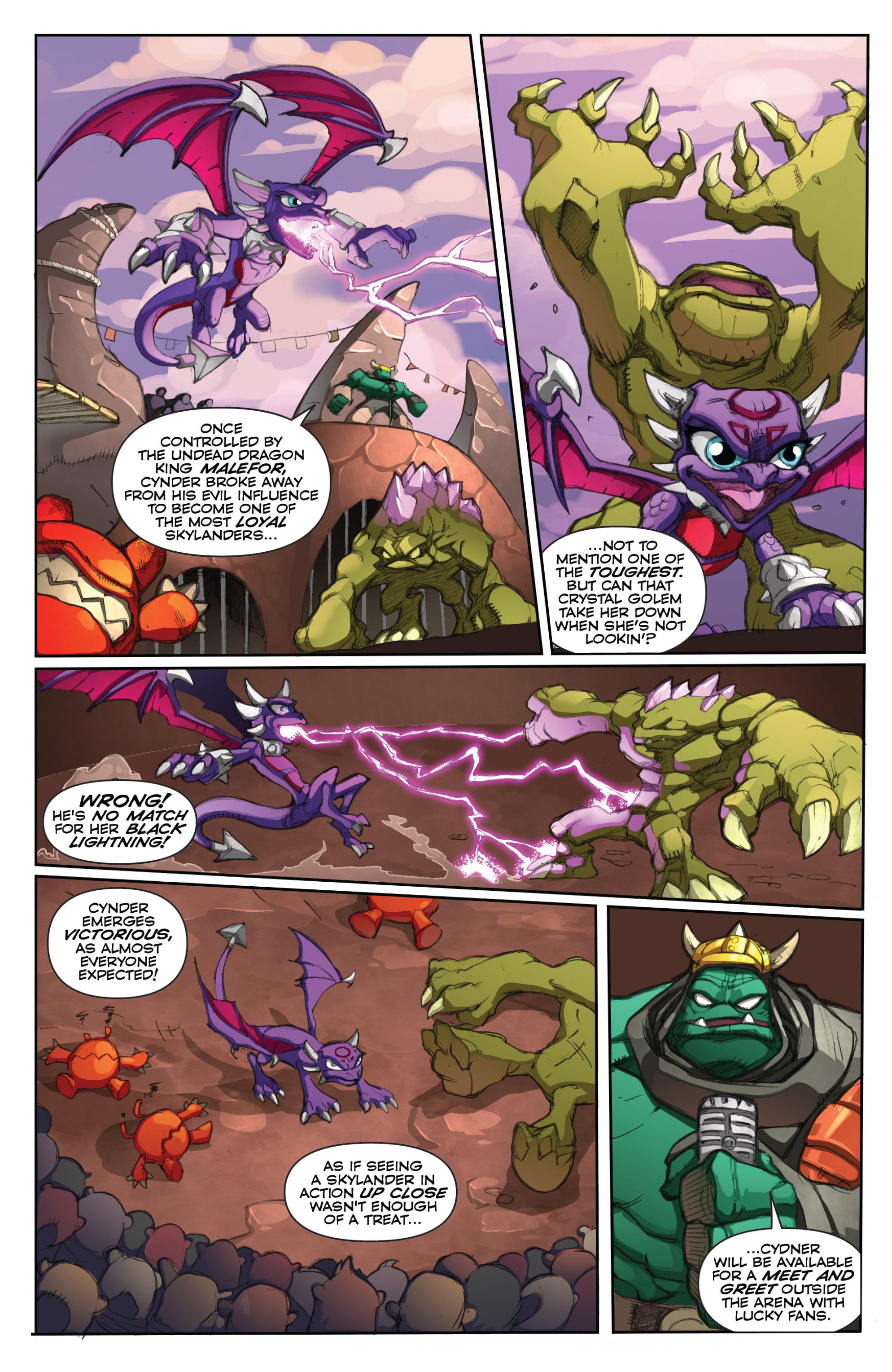 Read online Skylanders comic -  Issue #6 - 20